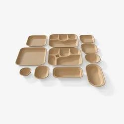 Bagasse Disposable Plate