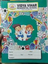 School Notebook, Size: 24*18 Cm