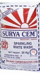 Surya Cem Sparkling White Wash, 25 kg