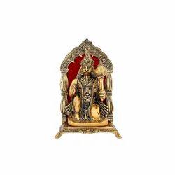 Gold Plated Hanuman Idol For Pooja Purpose & Corporate Gift