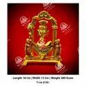 Golden Metal Kala Ganesha God Statue
