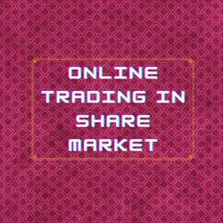 Online Trading In Share Market