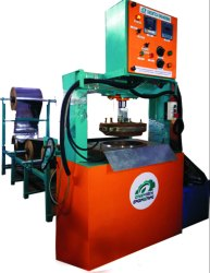 Hydraulic Dona and Thali Making Machine