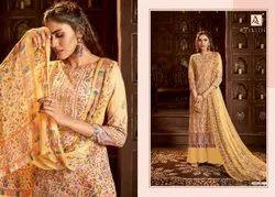Alok Mythilli 2 Pure Jam Cotton Designer Dress Material Collection