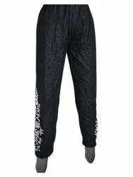 Ladies Casual Wear Black Cotton Pant, Waist Size: 32