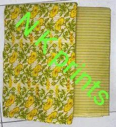 Kurti fabrics  Cambric Prosin Printed