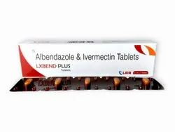 Lxbend plus  (Albendazole 400mg & Ivermectin 6mg tablets)