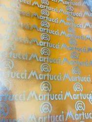 Silver Reflective Vinyl Heat Sticker