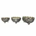 Antique Silver Plated Fruit Bowls Set For Decoration & Corporate Gift
