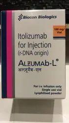 Itolizumab L 100 MG  Alzumab L Injection.