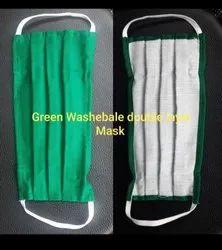 Cloth Hand Made Reusable Face Mask 100% Cotton Cloth