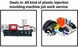 Plastic Injection Molding Machine Job Work Services 80 Ton To 220 Ton, Pan India