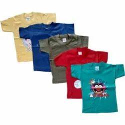 Kids Printed Cotton T Shirt