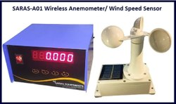 Stainless Steel Anemometer For Crane / Wind Speed Meter, Model Name/Number: Saras A01