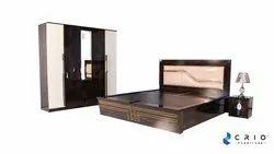 Prelam Woodbase Board Furniture Shade Lavish Blink King Bed, Size: 72*78*39 Inches