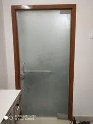 Bathroom Toughened Glass Door