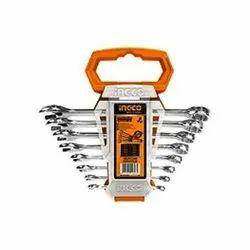 Ingco 8 Pcs Combination Spanner Set Heavy Duty