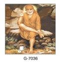 Sai Baba Picture Tile