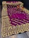 Heavy Stone Work Sarees for Wedding