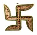 Gold Plated Swastik Wall Hanging For Home Decor & Corporate Gift