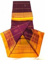 ILkal Embroidery Pure Cotton Saree