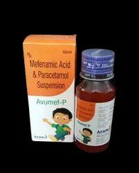 Mefenamic & Paracetamol Suspension