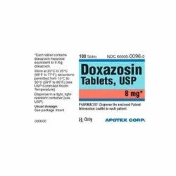 Doxazosin 4 Mg Tablets