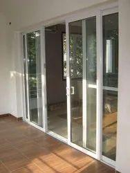 Pristine White Upvc Sliding Doors, Exterior