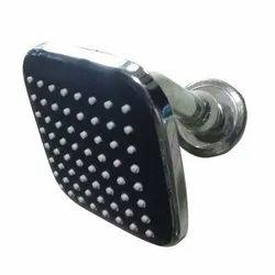 Square Black Bathroom Showers