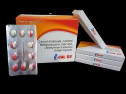 I-cal K2 Cap Calcium Corbonate 500mg Calcitriol 25 Mcg  Methylcobalamin 1500 Mcg Folic Acid 1.5mg