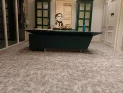 Gray Nylon Wall To Wall Carpet, For Home