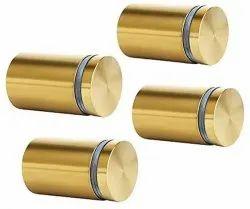 Brass Glass Stud