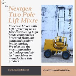 Automatic Two Tower Lift Concrete Mixer