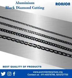 Black Cutting Aluminium Chain