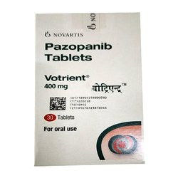 Votrient Pazopanib 400 Mg Tablets