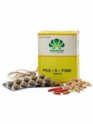 Pankajakasthuri Pile-O-Tone Tablets (100Nos), Prescription