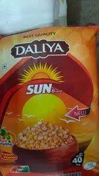 Yellow Roasted Chana Dal SUN, 40KG, Maharashtra