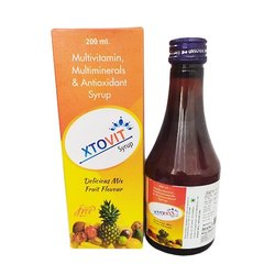 Xtovit Syrup Vitamin B-Complex, Multivitamin, Multimineral, Antioxidant