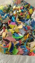 Multicolored Grinded PP Scrap