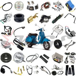Electric Wiring Harness Spare Parts For Vespa PX LML Star NV