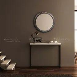 Design White Metal Mirror