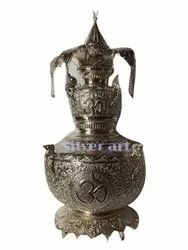 4 Inch Traditional Copper Temple Kalash