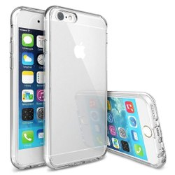 Hard Shell Crystal Clear 3 in 1 Case for iPhone 6/6s Set of 2 (Apple iPhone 6/6s)