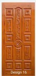 Exterior Burma Teak Wood Door, For Home, 7 X 3 Feet