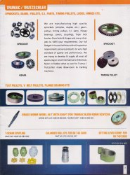Sprockets, Gears, Pulleys, C.I. Parts, Locks, Hinges, Bearings & Couplings For Carding Machines