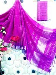 Party Wear Cotton Silk Saree