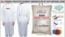 Able 90 Gsm Laminated Surgical Gown With Tapedh