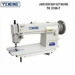 Semi-Automatic Texking Single Needle Heavy Duty Large Hook Sewing Machine, 450 W