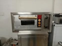 Electric Stainless Steel Commercial Pizza Oven, Size: Big/Large