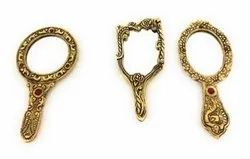 Gold Plated Hand Mirrors For Gifting